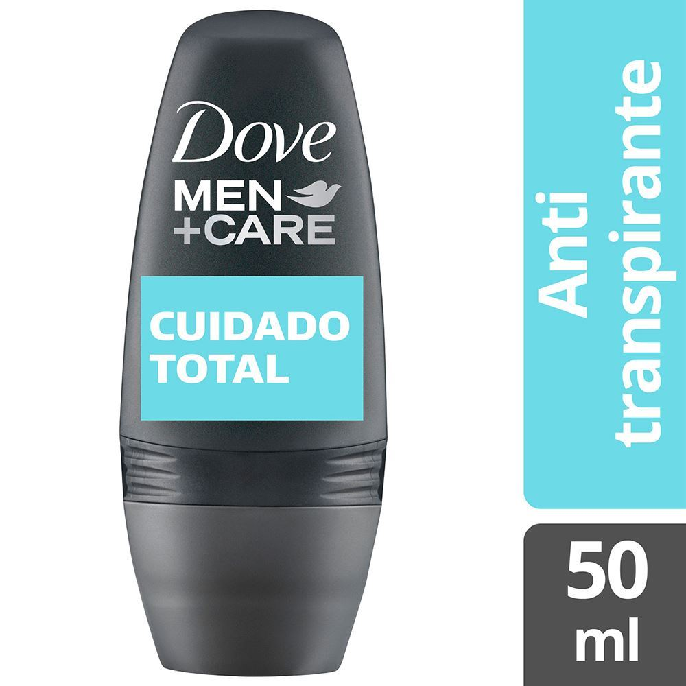 Dove cuidado total 50 ml roll on masc