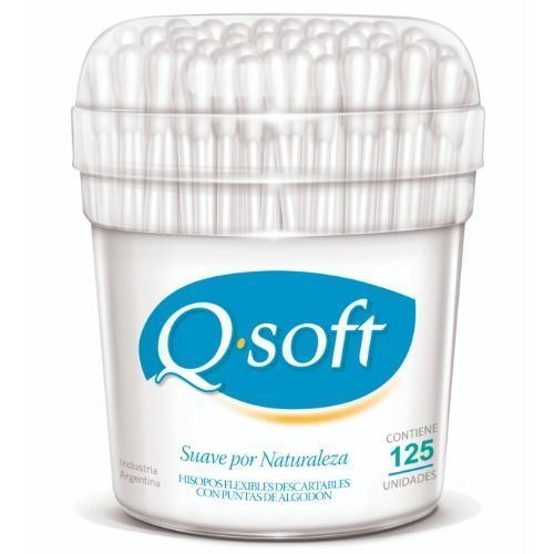 Hisopos Q. Soft pote 125 uds | Mercanet Tucumán