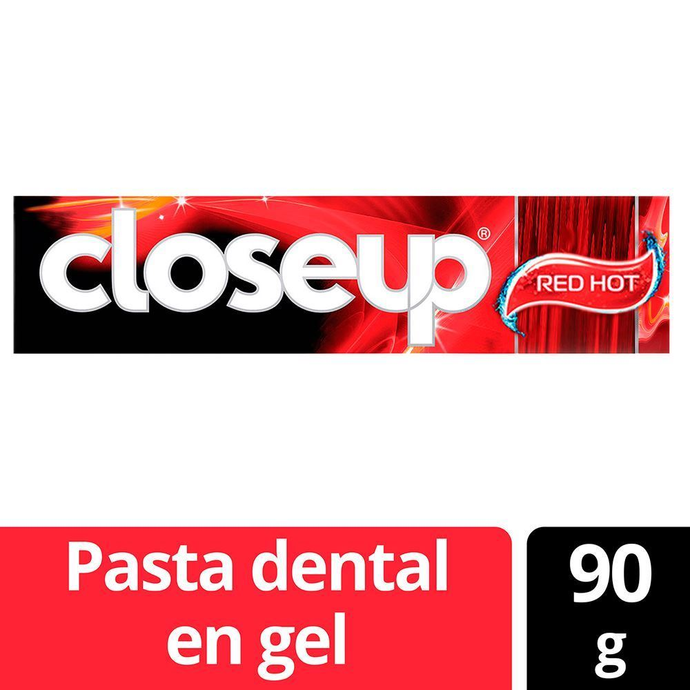 Pasta dental Close up red hot 90 grs
