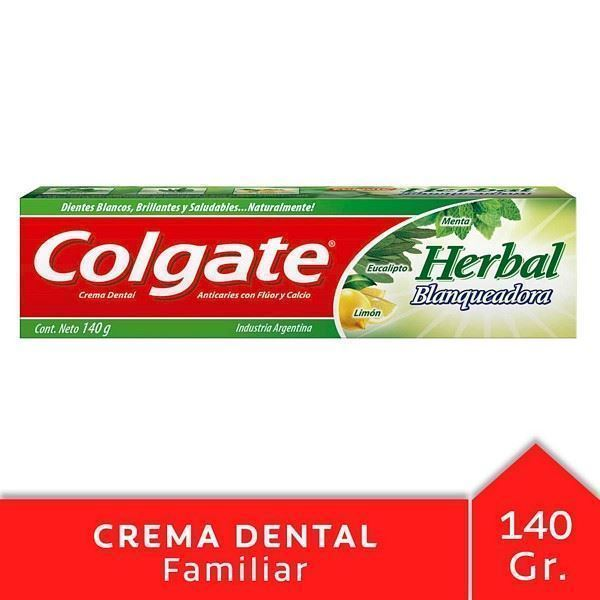Pasta dental Colgate herbal 140 grs
