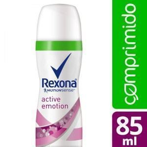 Rexona comprimido active emotion 85 ml aerosol fem